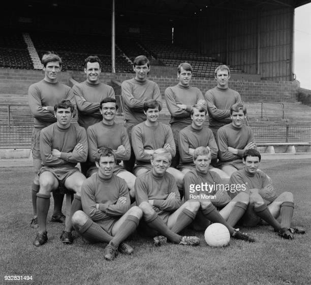 British soccer team Bristol City Football Club UK 18th September 1968