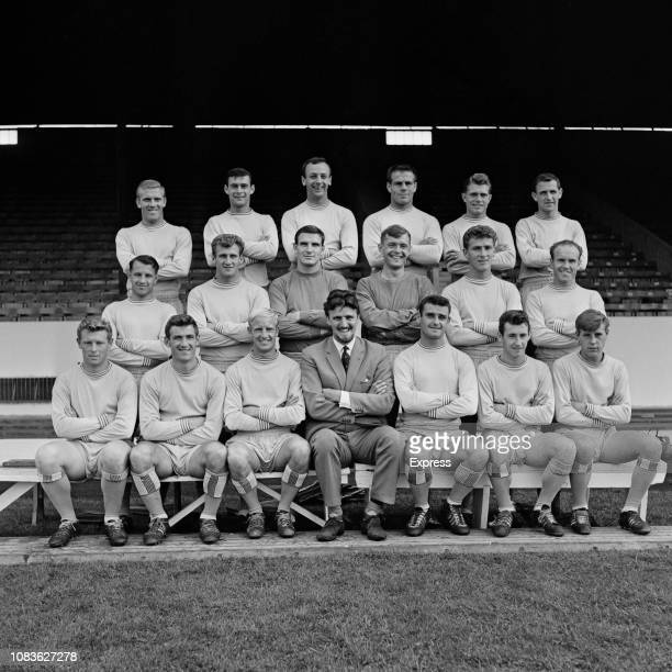 British soccer team Coventry City FC group photo UK 21st August 1963