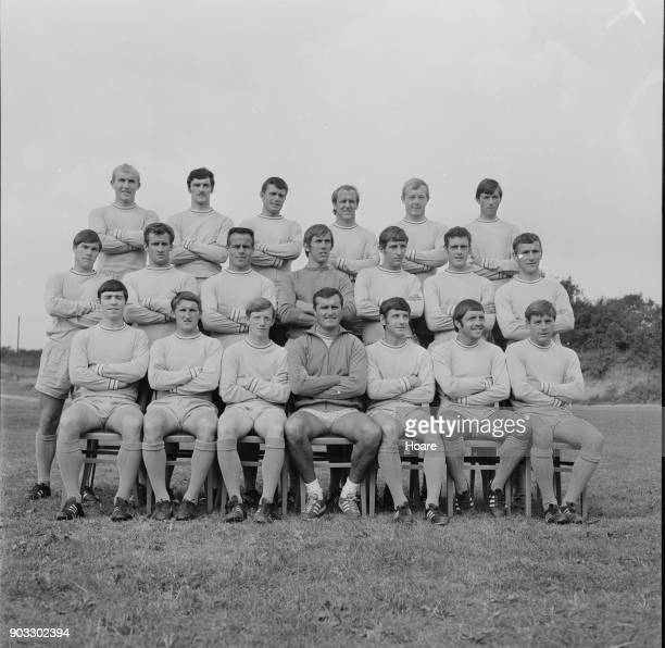 British soccer team Coventry City FC UK 23rd August 1968