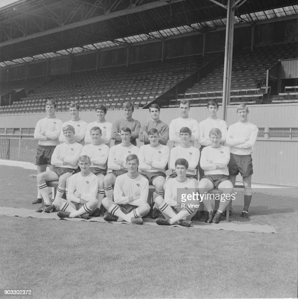 British soccer team Derby County FC UK 24th July 1968 Not in order Pat Wright Ian Buxton Ron Webster Colin Boulton les Green Tony Rhodes Barry Butlin...