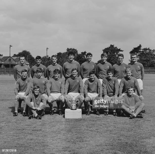 British soccer team Ipswich Town FC UK 18th July 1968 Not in order Christopher Bernard Billy Baxter Frank Brogan Tommy Carroll Sam Chung Ray Crawford...