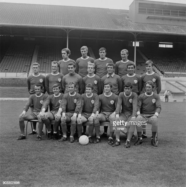 British soccer team Leicester City FC UK 26th July 1968 Not in order David Nish Peter Rodrigues John Sjoberg Brian Potts Alan Tewley Colin...