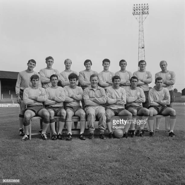 British soccer team Mansfield Town FC UK 27th August 1968