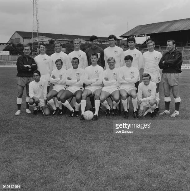 British soccer team Millwall FC London UK 12th July 1968