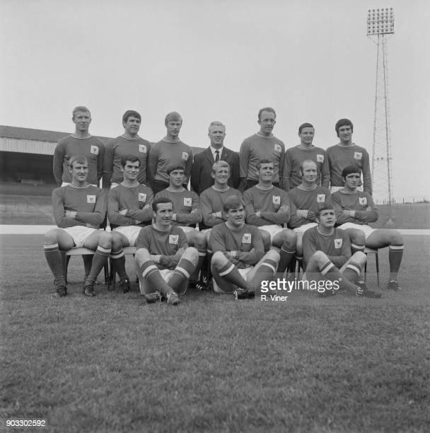 British soccer team Nottingham Forest FC UK 29th July 1968
