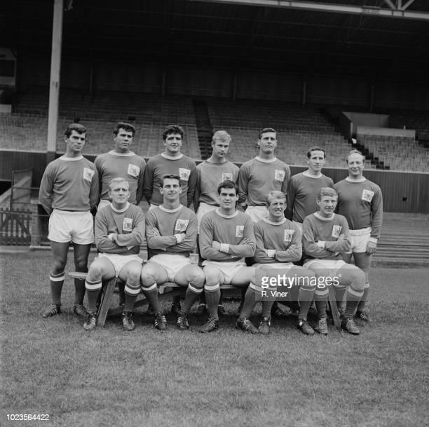 British soccer team Nottingham Forest FC UK 7th August 1965