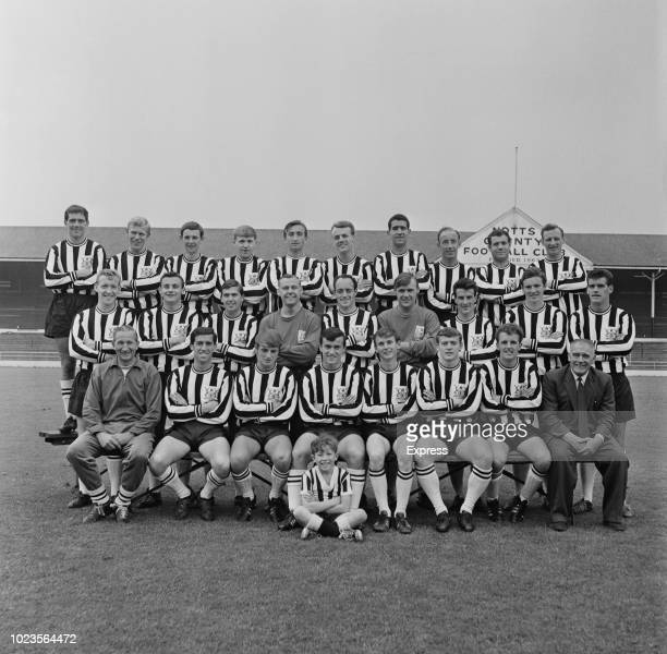 British soccer team Notts County FC, UK, 18th August 1965.