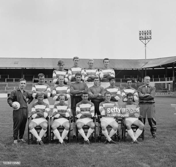 British soccer team Queens Park Rangers FC UK 21st July 1964