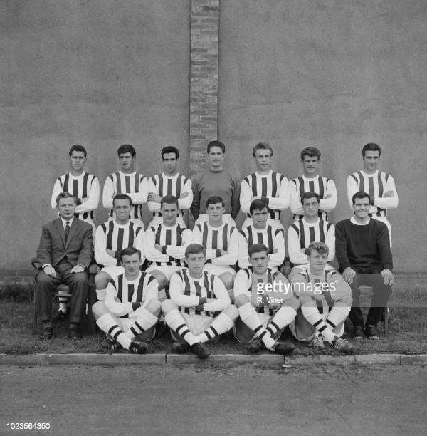 British soccer team West Bromwich Albion FC UK 11th August 1965
