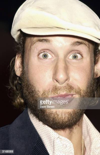 British socialite David De Rothchild attends the opening night of The Lady From the Sea at the Almeida Theatre on May 13 2003 in London
