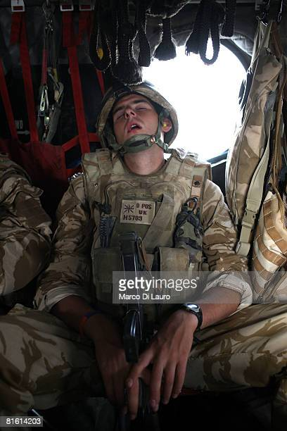 British Soldier Of The 7 Para Royal Horse Artillery Attached To 3rd Battalion Parachute Regiment