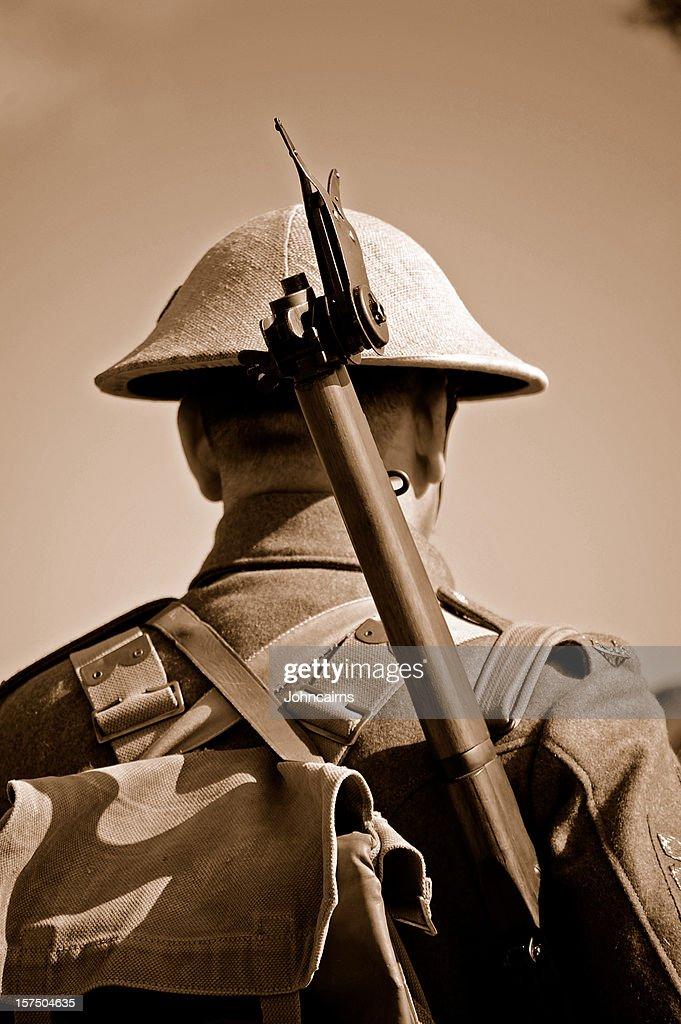 Soldat britannique Première Guerre mondiale. : Photo