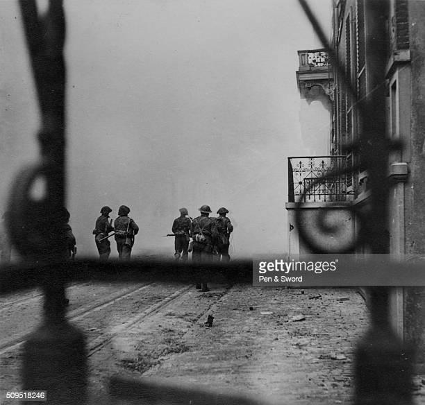 British soldiers in Arnhem, France.