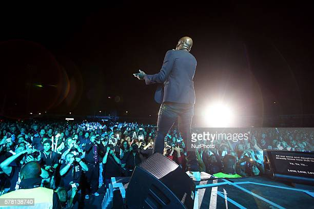 British soul and RampB singer Seal performs at the EDP Cool Jazz music festival in Oeiras Portugal on July 20 2016 Photo Pedro Fiuza