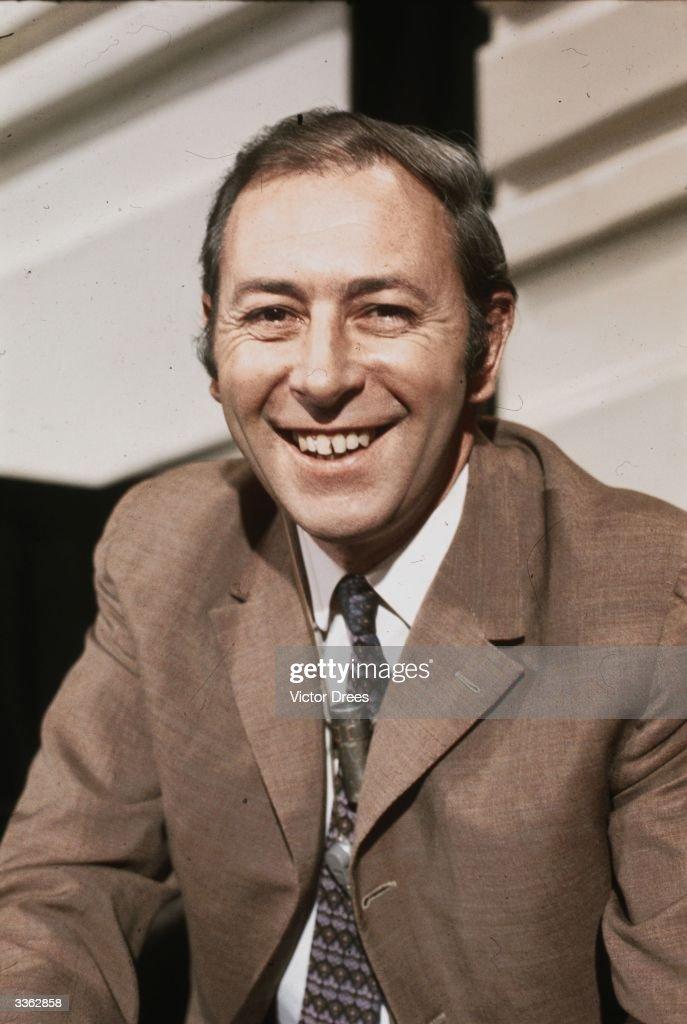 British sports commentator David Coleman.