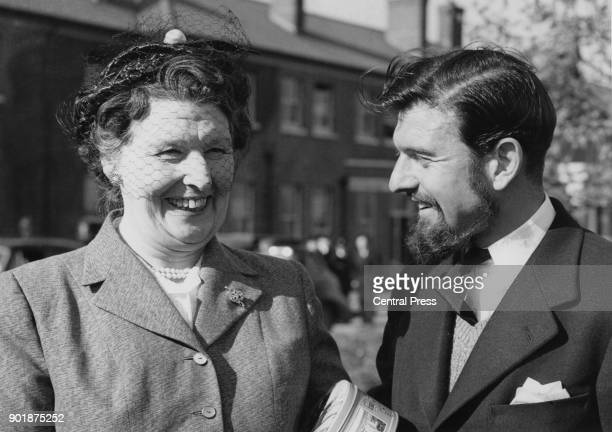 British spy George Blake with his mother upon his return from Korea in 1953 Taken prisoner by the Korean People's Army during the Korean War Blake...