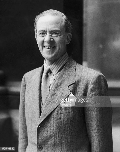 British statesman Sir Stafford Cripps leaves the Foreign Office in London after visiting Anthony Eden 12th June 1941 He has briefly returned from his...