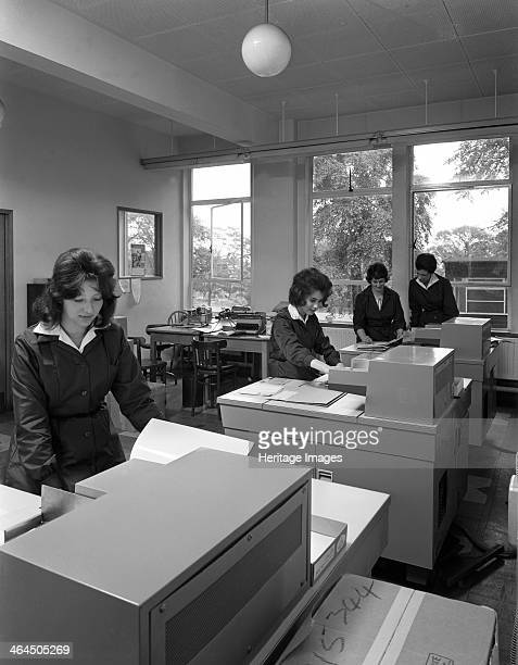British Steel staff using the latest Rank Xerox copiers Rotherham South Yorkshire 1962
