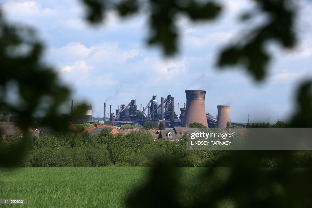 BRITAIN-POLITICS-INDUSTRY-STEEL-BRITISH STEEL-LAYOFFS : News Photo