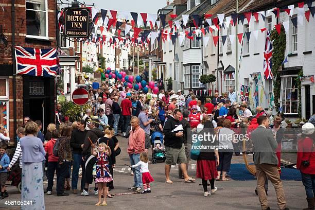 British fiesta callejera
