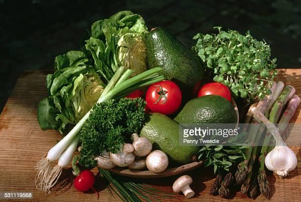 British Summer Vegetables