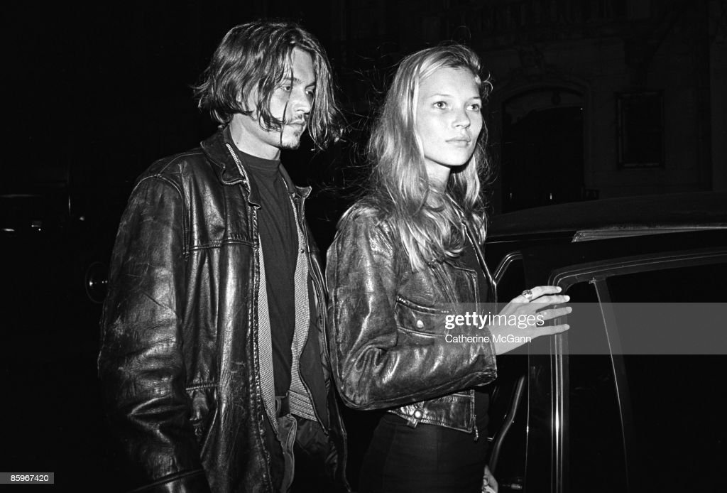 Johnny Depp And Kate Moss : News Photo