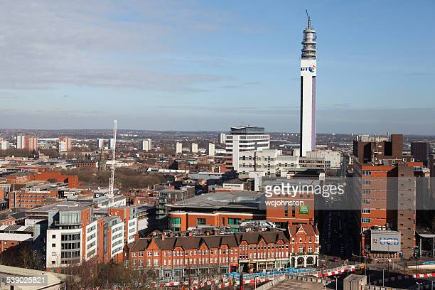 British Telecom Tower Birmingham City Centre
