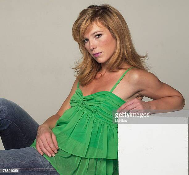 British television and film actress Honeysuckle Weeks photographed in the Studio on 5th October 2004