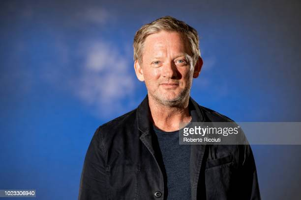 British television film and stage actor Douglas Henshall attends a photocall during the annual Edinburgh International Book Festival at Charlotte...