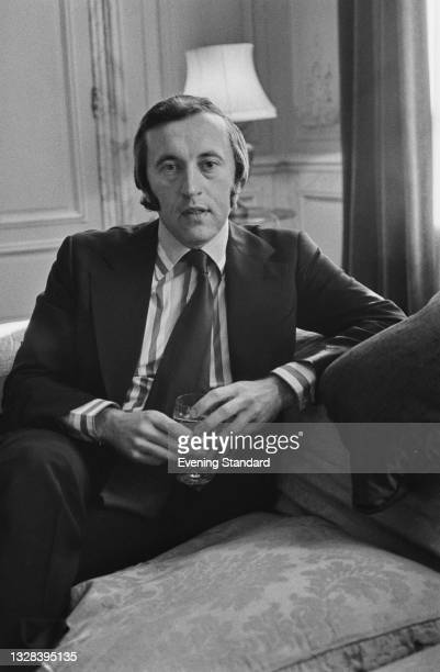 British television host and journalist David Frost , UK, 7th October 1974.