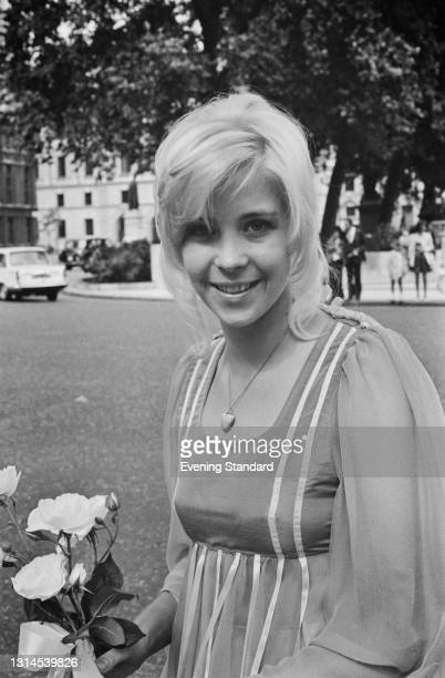 British television journalist Joan Thirkettle , UK, 4th September 1973.