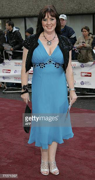 British television presenter and former singer Coleen Nolan arrives at the 'Pride of Britain' awards at the London Studios in London 11 October 2007...