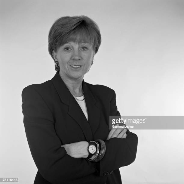 British television presenter and gameshow host Anne Robinson 1998