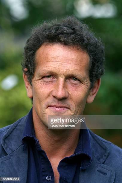 British television presenter and gardener Monty Don pictured at the Edinburgh International Book Festival where they discussed their autobiographical...