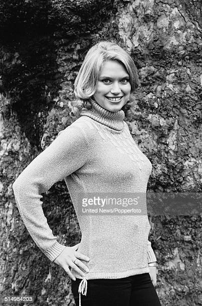 British television presenter Anneka Rice posed in London on 25th January 1982