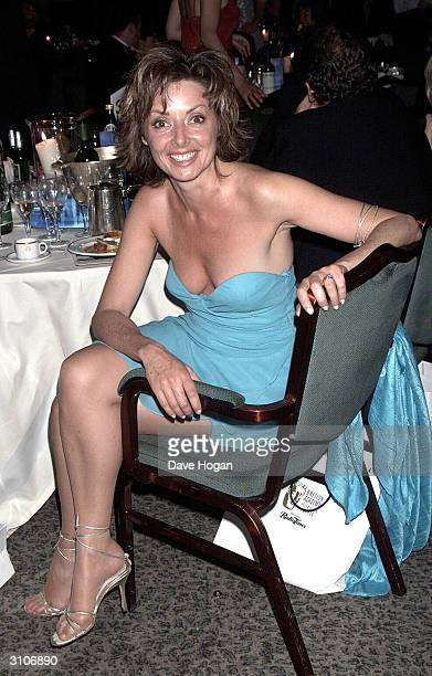 British television presenter Carol Vorderman attends the BAFTA Television Awards held at the Grosvenor House Hotel on Park Lane on May 14 2000 in...