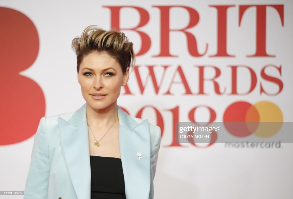 BRITAIN-ENTERTAINMENT-MUSIC-AWARD-BRITS : News Photo