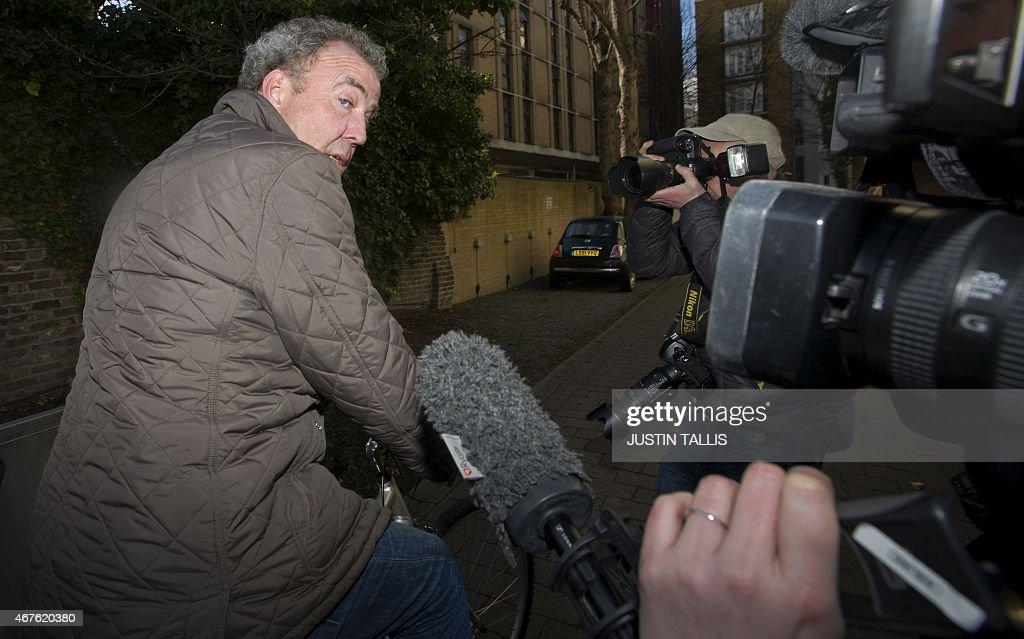 BRITAIN-TELEVISION-BBC-PEOPLE-CLARKSON : News Photo