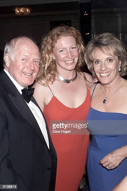 British television presenters Charlie Dimmock and Esther Rantzen arrive at the BAFTA Television Awards held at the Grosvenor House Hotel on Park Lane...