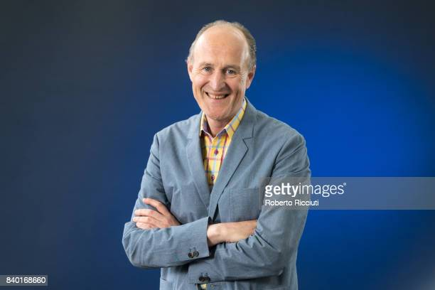 British television producer Sir Peter Bazalgette attends a photocall during the annual Edinburgh International Book Festival at Charlotte Square...