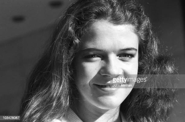 British tennis player Annabel Croft on November 02 1984