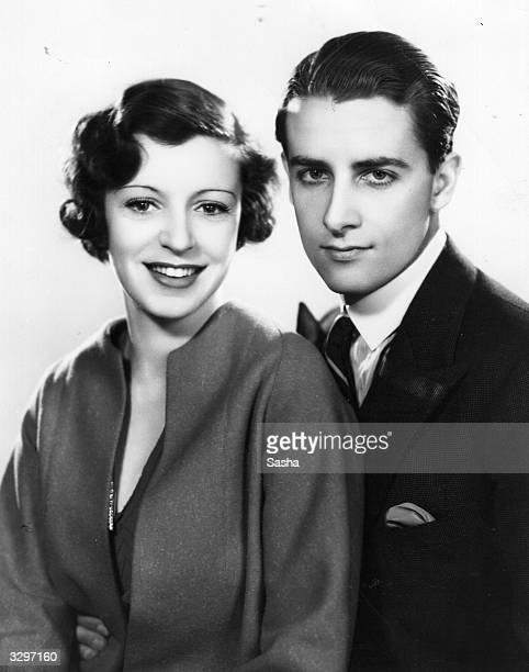 British tennis player Bunny Austin with his wife actress Phyllis Konstam