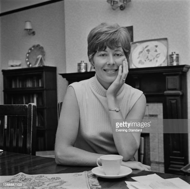 British tennis player Christine Truman, UK, 24th June 1967.