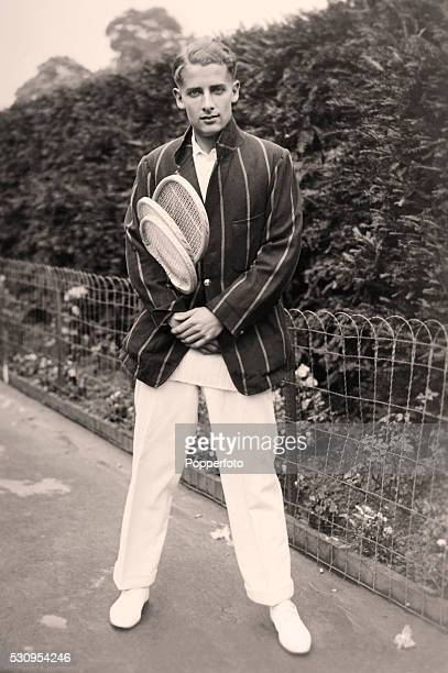 British tennis player HW Austin at Wimbledon circa 1931