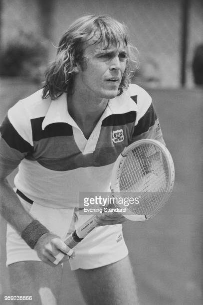 British tennis player John Lloyd UK 15th June 1978