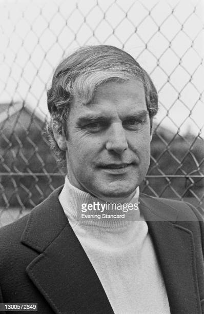 British tennis player turned coach Tony Pickard during the 1973 British Hard Court Championships in Bournemouth, UK, May 1973.