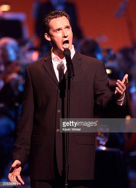 British tenor Russell Watson at the grand opening of the Kodak Theater at Hollywood Highland in Los Angeles Ca Friday November 9 2001 Photo b y Kevin...