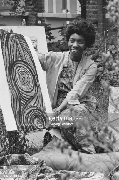 British textile designer Althea McNish , UK, 6th August 1973.
