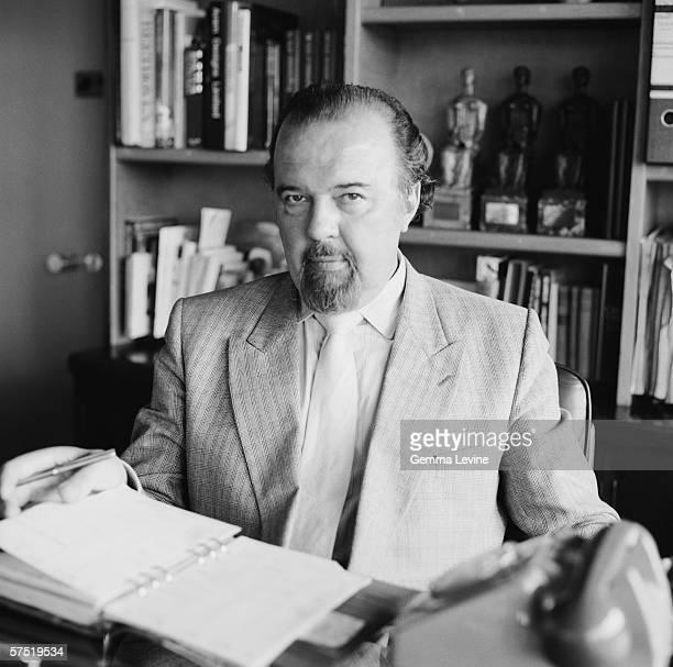 British theatre director Sir Peter Hall circa 1980