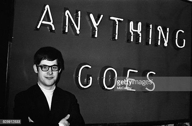 British theatrical producer Cameron Mackintosh whose show 'Anything Goes' has been cancelled after just two weeks London 2nd December 1969